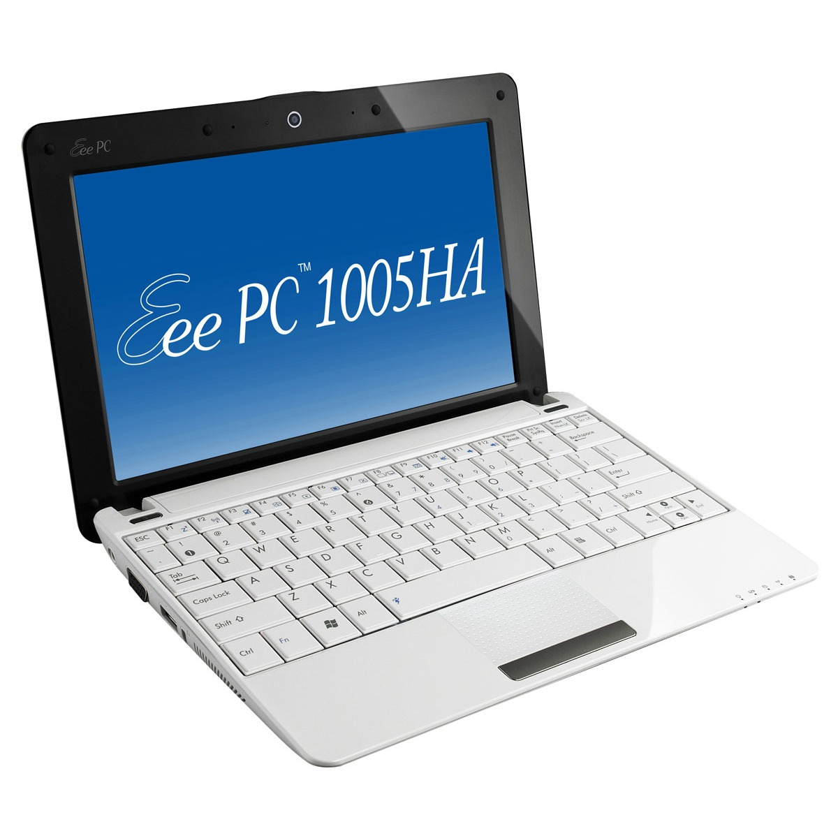 "LDLC.com ASUS Eee PC 1005HA-H Blanc ASUS Eee PC 1005HA-H Blanc - Intel Atom N280 1 Go 250 Go 10"" TFT Wi-Fi N/Bluetooth Webcam Windows 7 Starter"