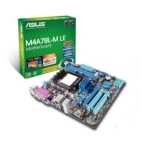 Carte mère ASUS M4A78L-M LE ASUS M4A78L-M LE (AMD 760G) - Micro ATX - (garantie 3 ans)