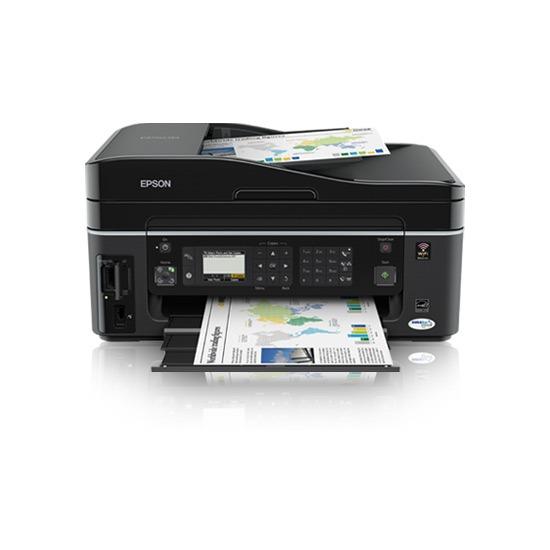 Imprimante multifonction Epson Stylus Office BX610FW Epson Stylus Office BX610FW - Imprimante Multifonction jet d'encre couleur 4-en-1 (USB 2.0 / Ethernet / Wi-Fi b/g)