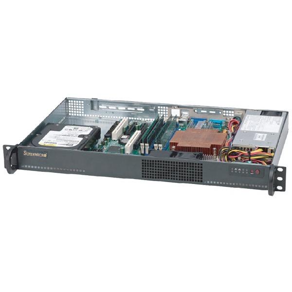 Serveur SuperMicro SuperServer  - Intel Celeron 430 1 Go SSD 80 Go Rack Mini 1U 200W (sans OS - monté) SuperMicro SuperServer  - Intel Celeron 430 1 Go SSD 80 Go Rack Mini 1U 200W (sans OS - monté)