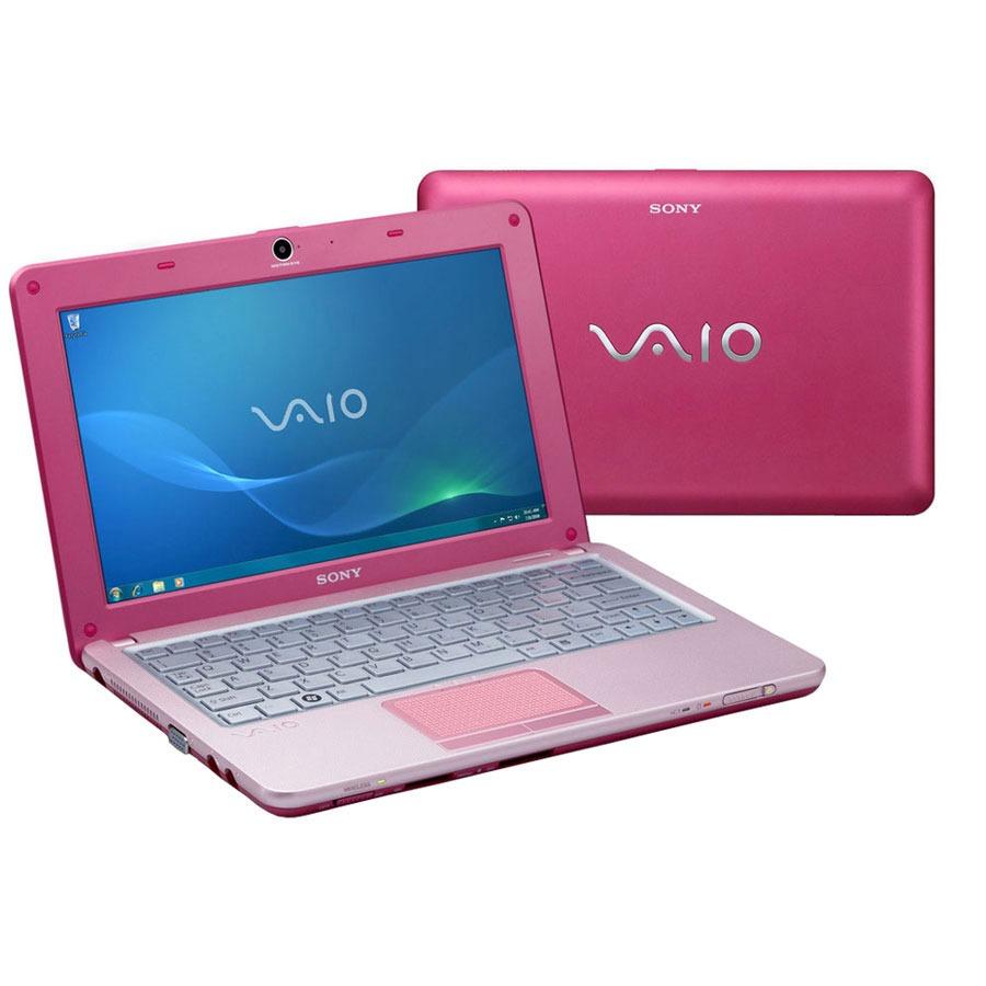 """LDLC.com Sony VAIO VPCW12M1E/P Sony VAIO VPCW12M1E/P - Intel Atom N280 1 Go 160 Go 10.1"""" LCD Wi-Fi N/Bluetooth Webcam Windows 7 Starter (coloris rose)"""