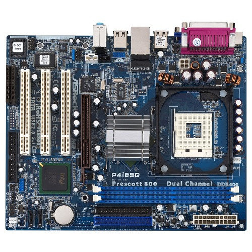 Carte mère ASRock P4I65G Carte mère Micro ATX Socket 478 Intel 865G