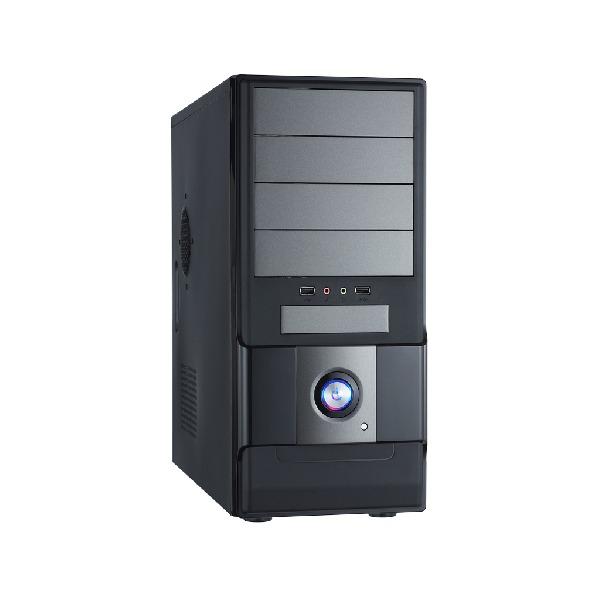 Boîtier PC Heden B9360CA Boîtier Moyen Tour Noir avec alimentation 480W