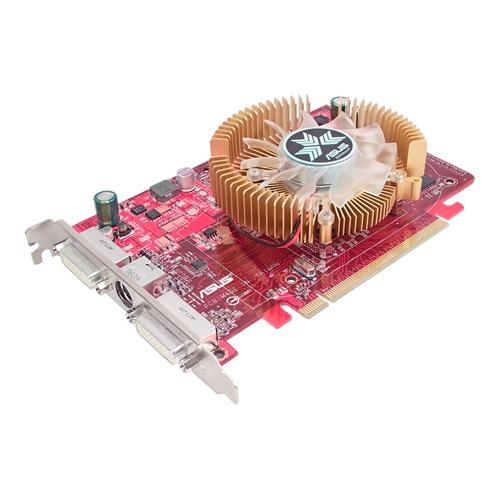 Carte graphique ASUS EAH2600PRO/HTDP/512M ASUS EAH2600PRO/HTDP/512M - 512 Mo TV-Out/Dual DVI - PCI Express (ATI Radeon HD 2600 PRO)
