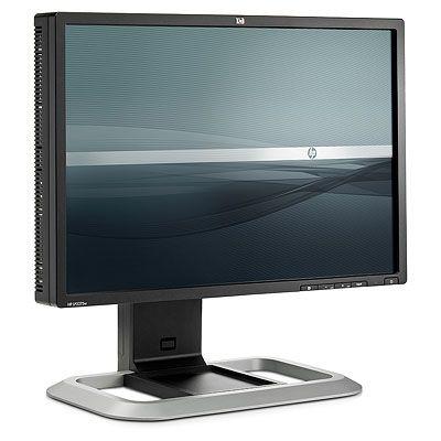 """Ecran PC HP LP2275w HP 22"""" LCD - LP2275w - 6 ms - Format large 16/10 - Pivot - Hub USB (coloris noir/argent)"""