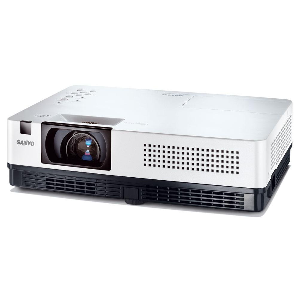 Sanyo plc xr201 vid oprojecteur sanyo sur ldlc for Meuble videoprojecteur