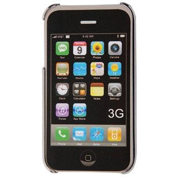 Etui téléphone Colorfone Coque rigide pour iPhone 3G/3Gs Colorfone Coque rigide pour iPhone 3G/3Gs (coloris argent)