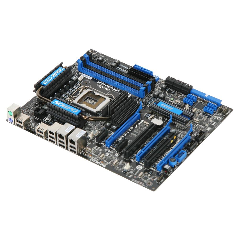 Carte mère MSI P55 Big Bang Trinergy MSI P55 Big Bang Trinergy (Intel P55 Express) - ATX