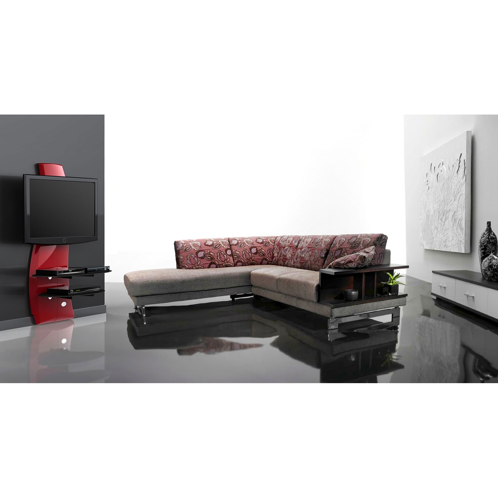 meliconi ghost design 2000 (488070) : achat / vente meuble tv sur ... - Meuble Tv Mural Meliconi Ghost Design 2000