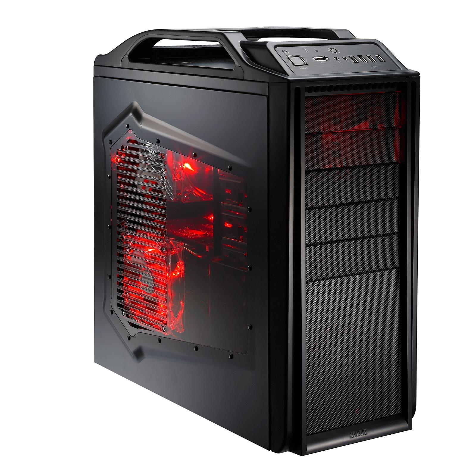 Boîtier PC Cooler Master Storm Scout Boîtier ATX - Noir