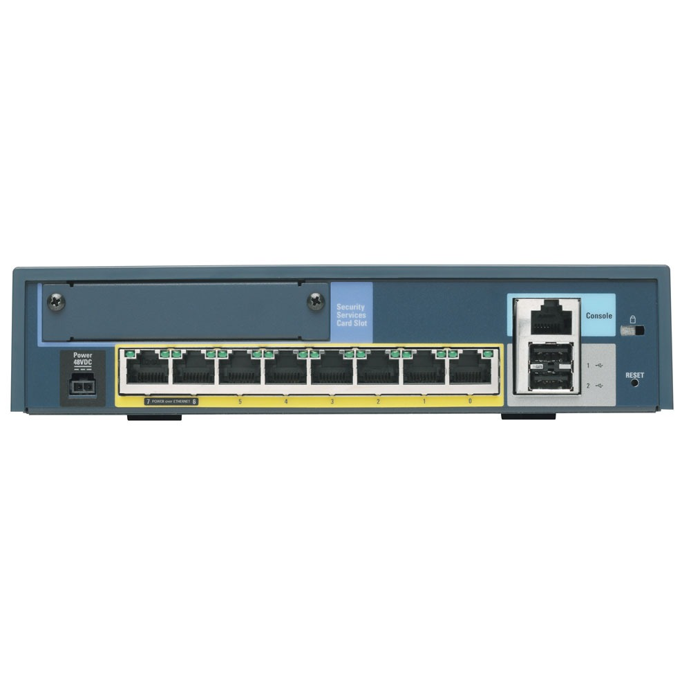 Firewall hardware Cisco ASA5505 50 utilisateurs Cisco ASA5505 - Pare-feu / VPN