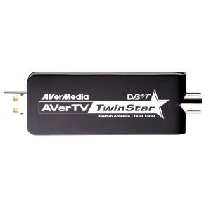 Tuner TNT USB AVerMedia AVerTV TwinStar AVerMedia AVerTV TwinStar - Tuner TV TNT USB 2.0
