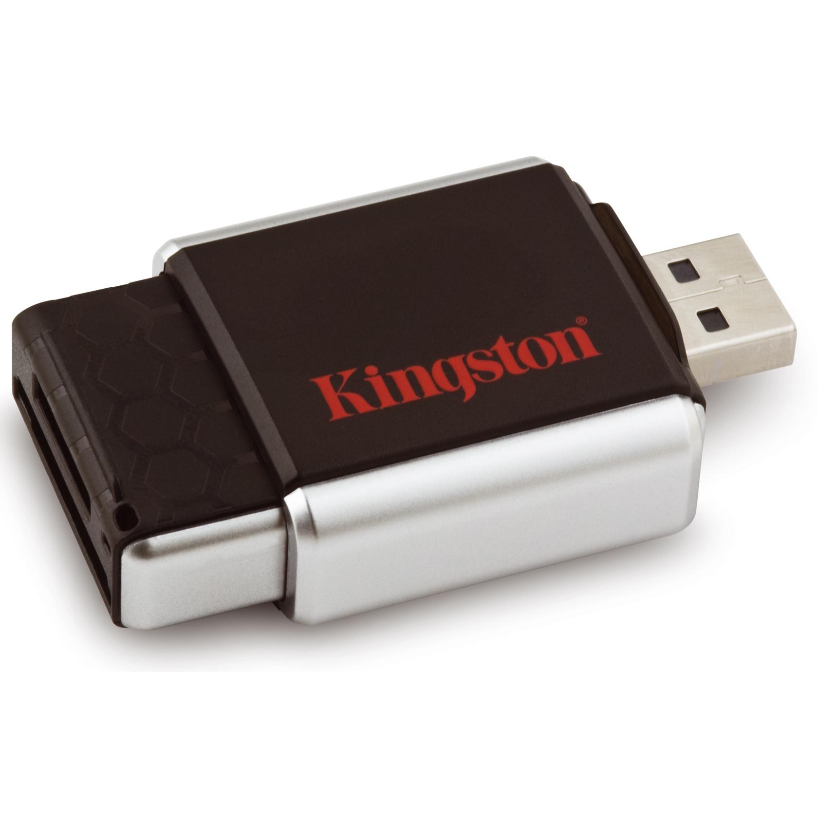 Carte mémoire Kingston lecteur USB MobileLite G2 + SDHC 16 Go Class 4 Kingston lecteur USB MobileLite G2 + SDHC 16 Go Class 4 (garantie 10 ans par Kingston*)