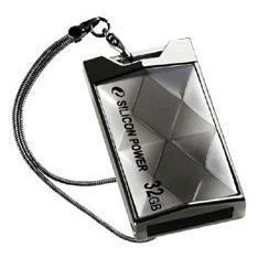 Clé USB Silicon Power Touch 850 16 Go Titane Silicon Power Touch 850 16 Go (coloris titane)