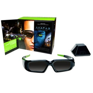 Lunettes 3D NVIDIA GeForce 3D Vision Pack Avatar NVIDIA GeForce 3D Vision Pack Avatar