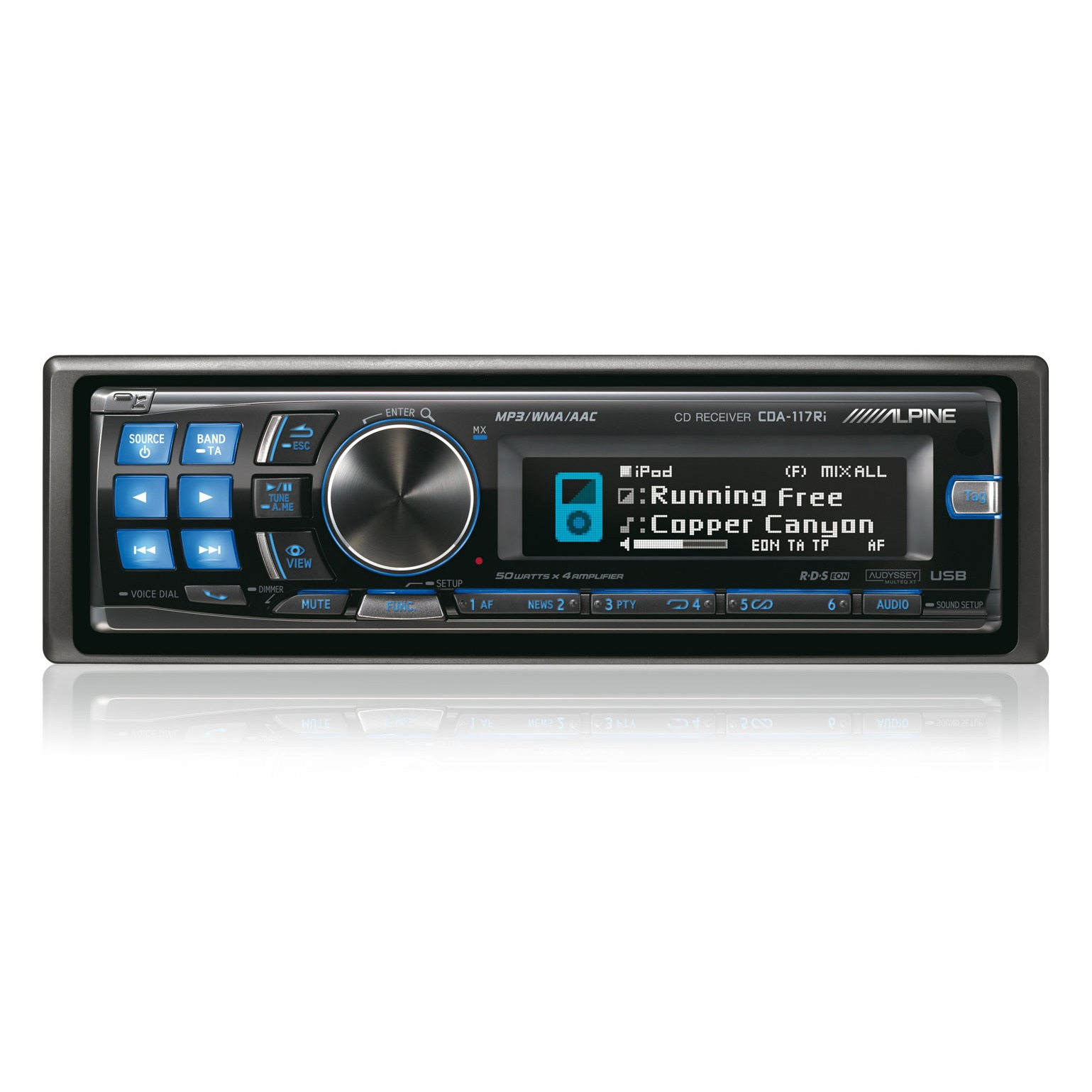 Car Stereo Bluetooth Removable Face Single Din