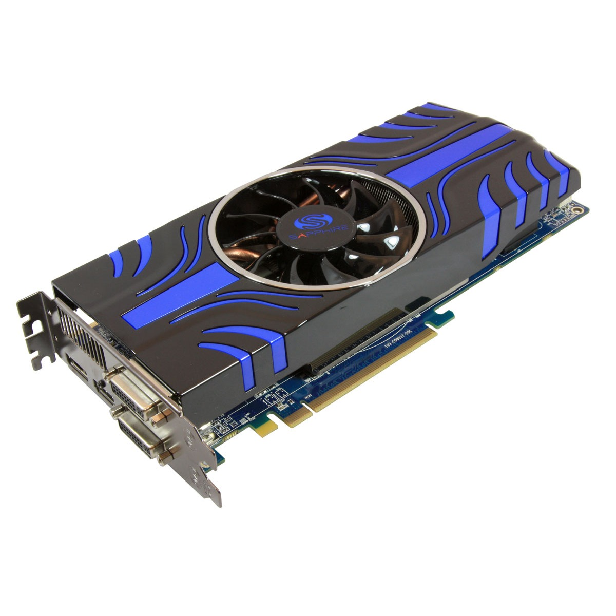 Carte graphique Sapphire Radeon HD 5850 TOXIC Edition Sapphire Radeon HD 5850 TOXIC Edition - 1 Go HDMI/Dual DVI/DisplayPort - PCI Express (ATI Radeon HD 5850)