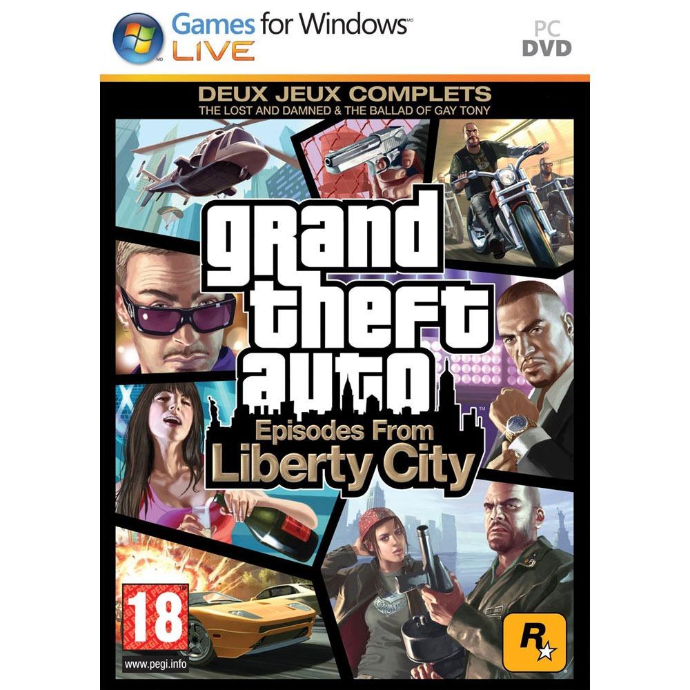 Jeux PC GTA IV - Grand Theft Auto IV : Episodes From Liberty City (PC) GTA IV - Grand Theft Auto IV : Episodes From Liberty City (PC)