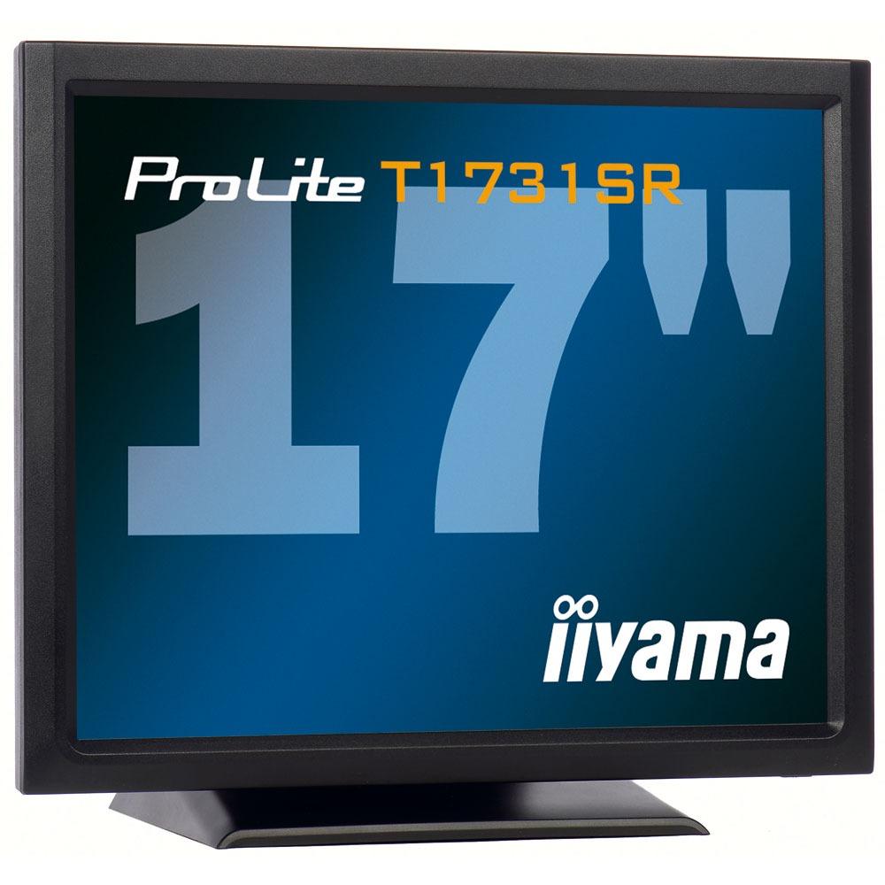"Ecran PC iiyama 17"" LCD Tactile - ProLite T1731SR-1 1280 x 1024 pixels - 5 ms - Format 4/3 - Noir"