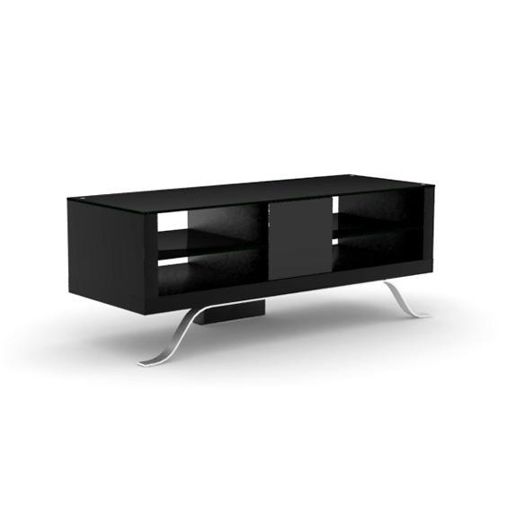 Elmob arcadia ar 120 11 noir meuble tv elmob sur ldlc - Meuble ecran videoprojecteur ...