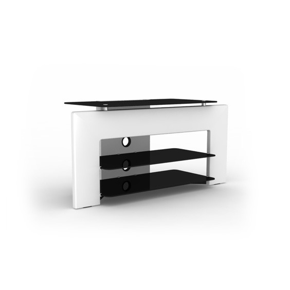 elmob nefsis ne 110 01 blanc meuble tv elmob sur ldlc. Black Bedroom Furniture Sets. Home Design Ideas