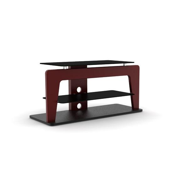 Elmob safran sf 110 02 bordeaux meuble tv elmob sur ldlc for Meuble tv 49 pouces