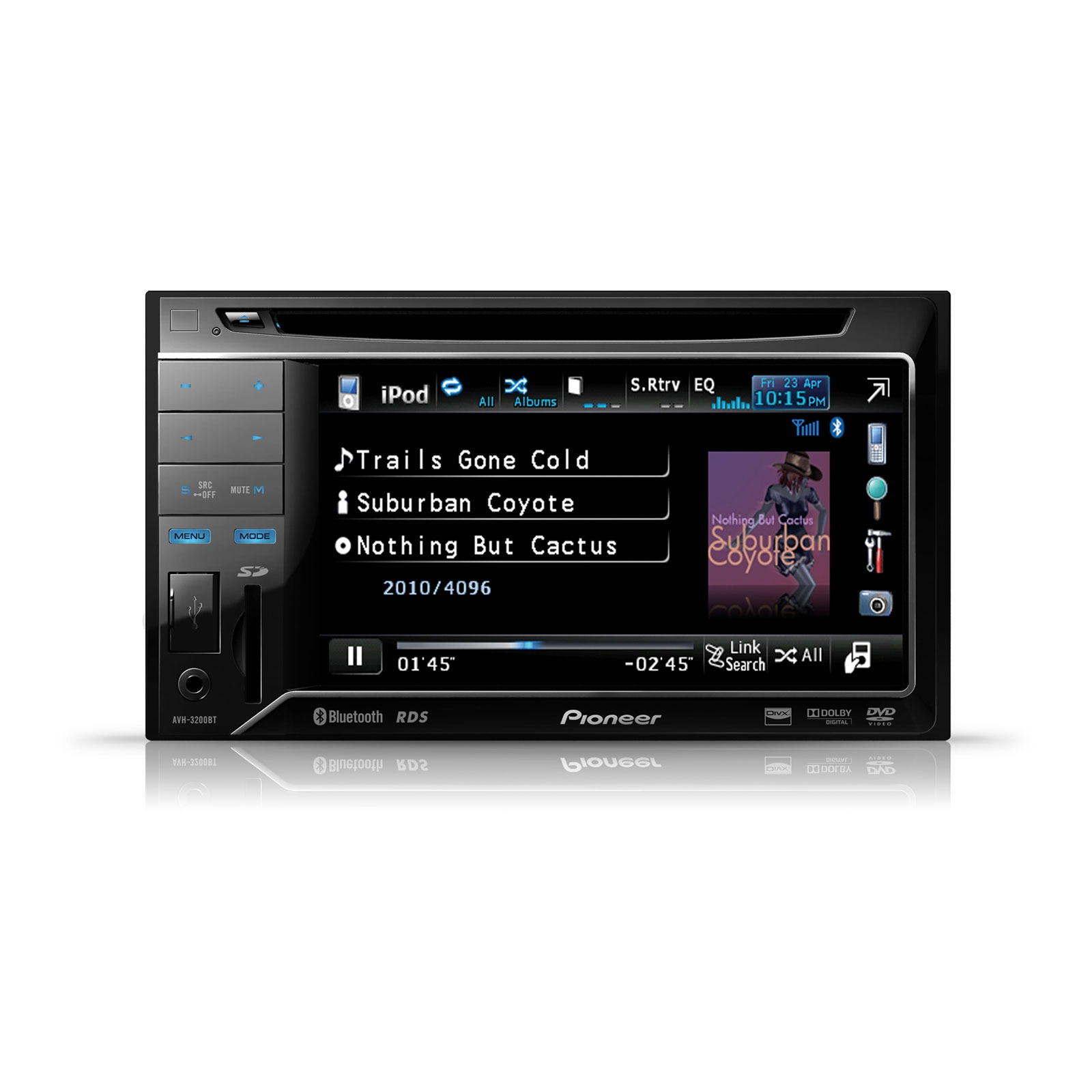 pioneer avh 3200bt autoradio pioneer sur ldlc. Black Bedroom Furniture Sets. Home Design Ideas