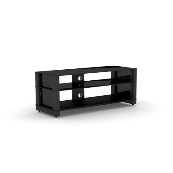Elmob optima op 120 12 noir meuble tv elmob sur ldlc - Meuble ecran videoprojecteur ...
