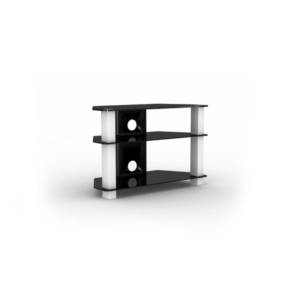 Elmob serra se 080 31 blanc meuble tv elmob sur ldlc - Meuble television ecran plat ...