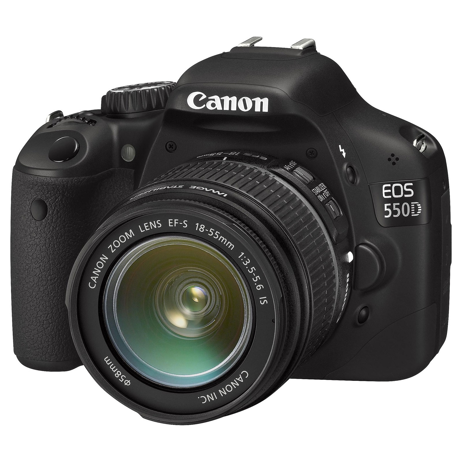 Canon eos 550d objectif ef s 18 55mm is appareil photo for Ecran numerique photo