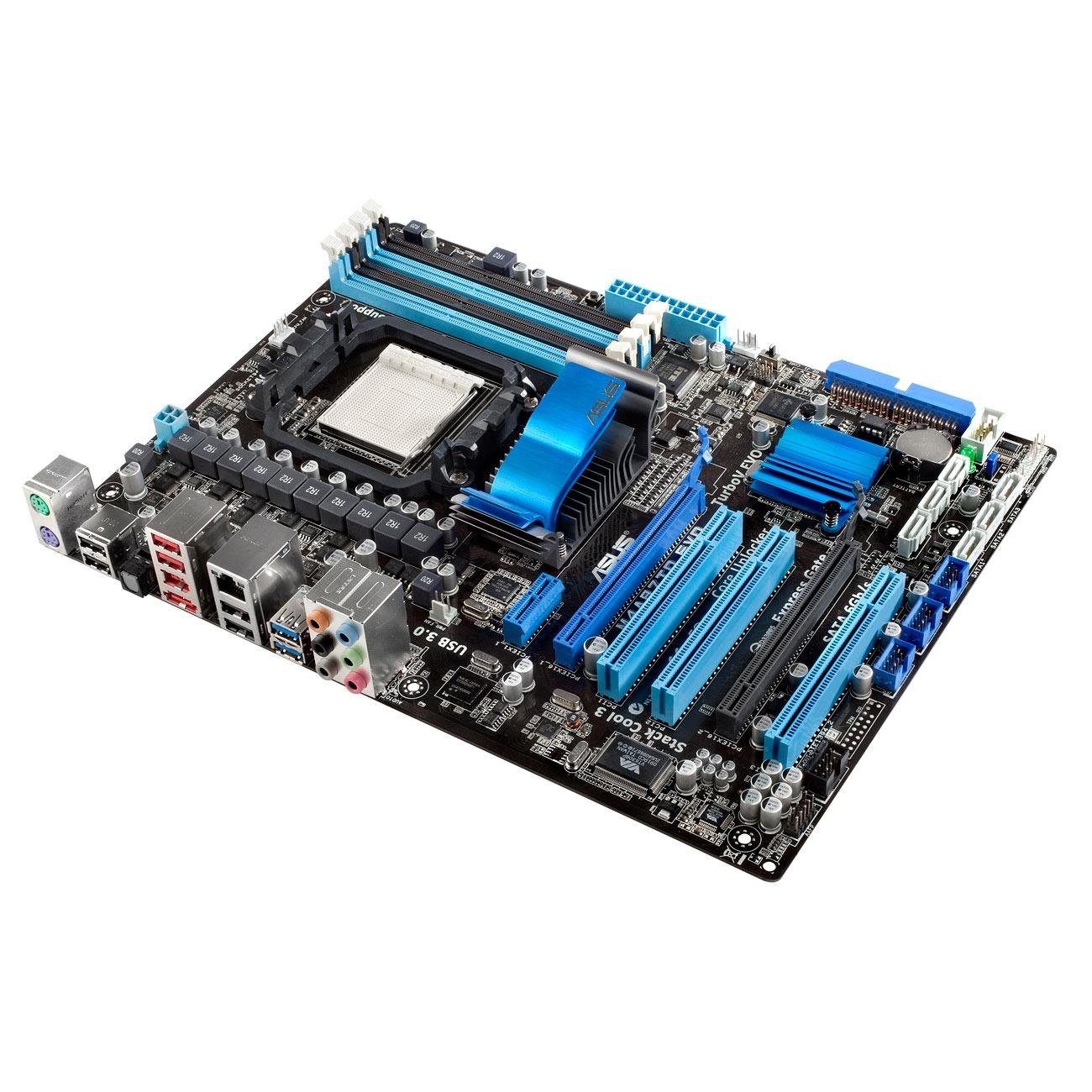 Carte mère ASUS M4A87TD-EVO Carte mère ATX Socket AM3 AMD 870