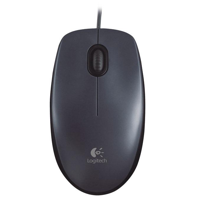 Souris PC Logitech Mouse M90 Souris filaire - ambidextre - capteur optique 1000 dpi - 2 boutons
