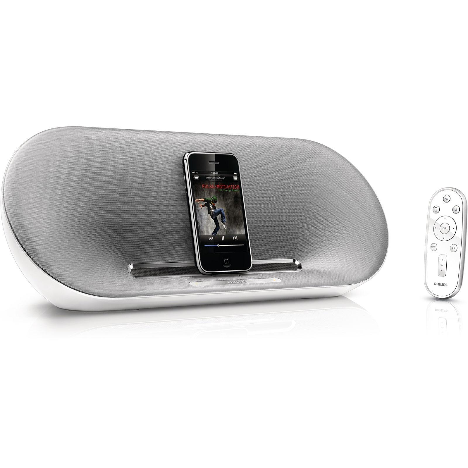 Dock & Enceinte Bluetooth Philips DS8500 Philips DS8500 - Station d'accueil pour iPod/iPhone