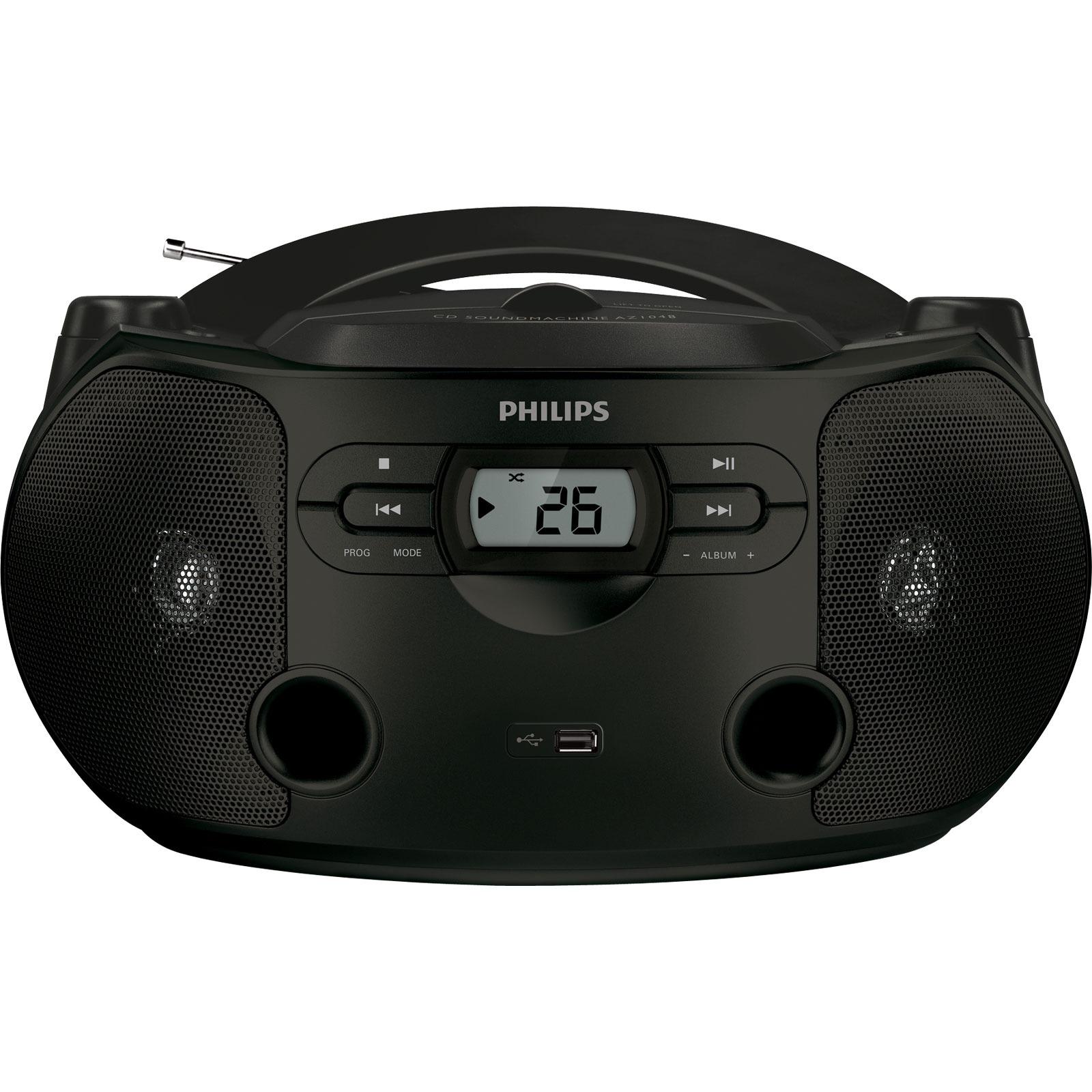 philips az1048 radio radio r veil philips sur ldlc. Black Bedroom Furniture Sets. Home Design Ideas