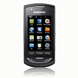 "Mobile & smartphone Samsung GT-S5620 Player Star 2 Smartphone 3G+ avec écran tactile 3"""