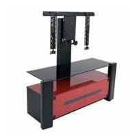 erard archi rouge avec colonne 036340 achat vente meuble tv sur. Black Bedroom Furniture Sets. Home Design Ideas