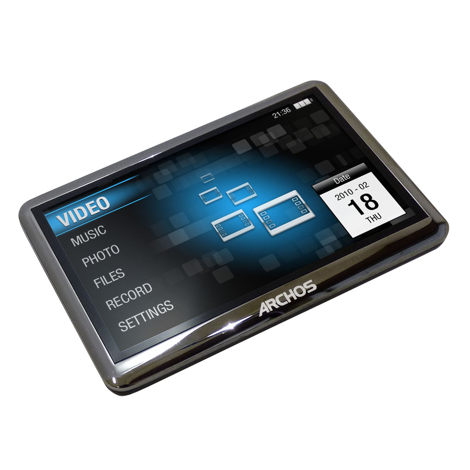 Lecteur MP3 & iPod Archos 43 Vision Archos 43 Vision Noir - Lecteur MP3 vidéo 8 Go
