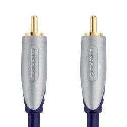 Câble audio numériques Bandridge Câble audio coaxial numérique HD - 5 m Bandridge Câble audio coaxial numérique HD - 5 m