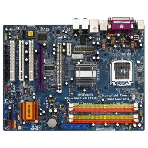 Carte mère ASRock 4Core1333-eSATA2 ASRock 4Core1333-eSATA2 (Intel P31 Express) - ATX