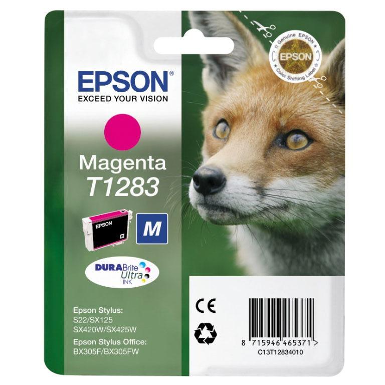 Cartouche imprimante Epson T1283 Cartouche d'encre magenta