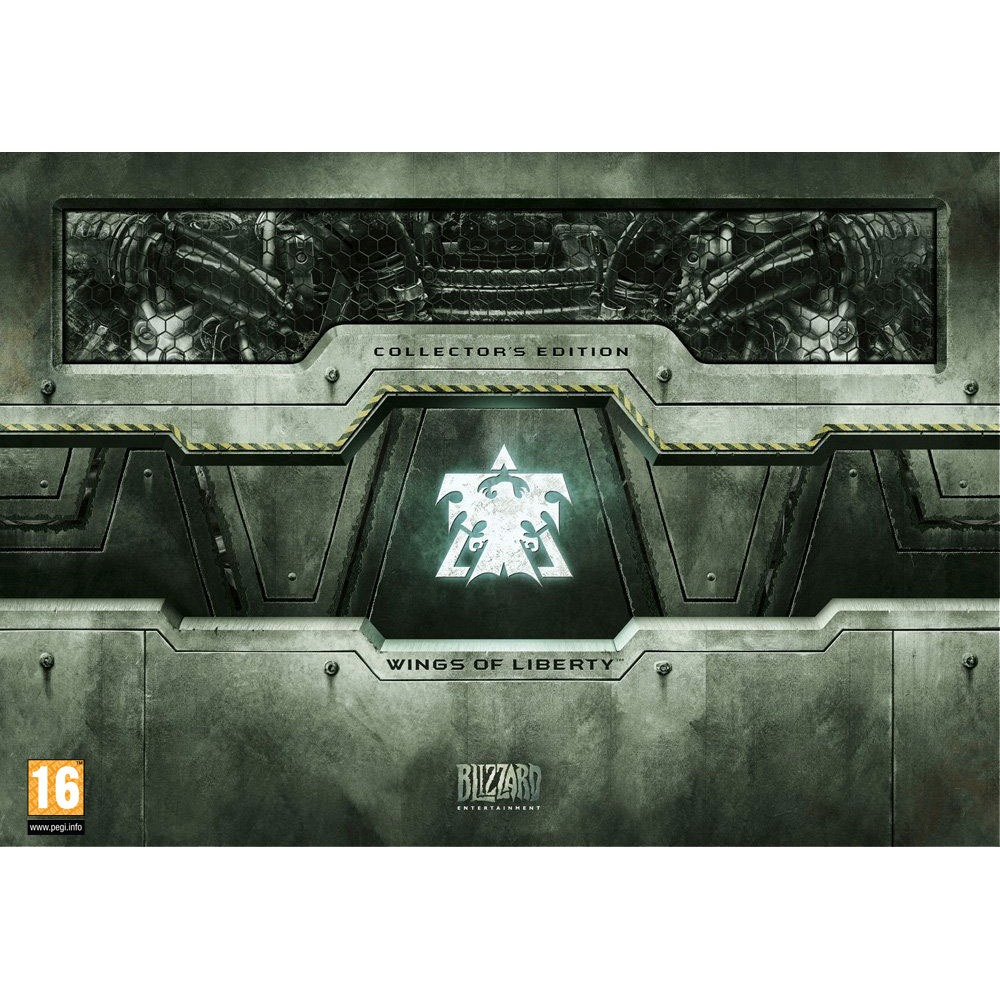 Jeux PC StarCraft II : Wings Of Liberty Edition Collector (PC/Mac) StarCraft II : Wings Of Liberty Edition Collector (PC/Mac)