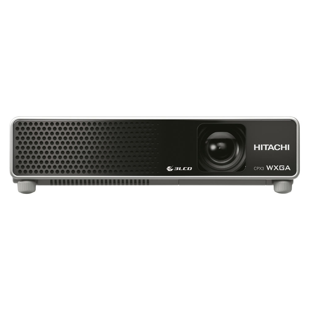 Hitachi cpx3 vid oprojecteur hitachi sur ldlc for Meuble videoprojecteur