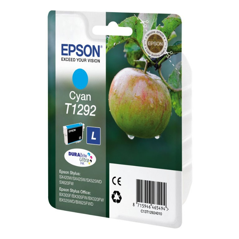 Cartouche imprimante Epson T1292 Cartouche d'encre cyan