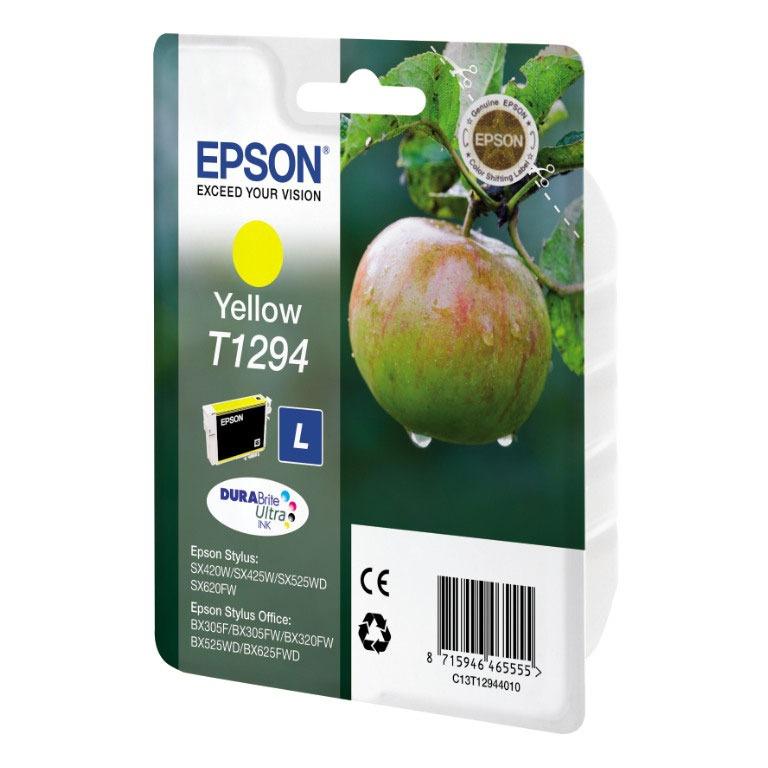 Cartouche imprimante Epson T1294 Cartouche d'encre jaune