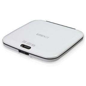 Lecteur graveur Lite-On eTDU108-01 Lite-On eTDU108 - Lecteur DVD-ROM 8x/24x Slim externe Blanc - USB 2.0