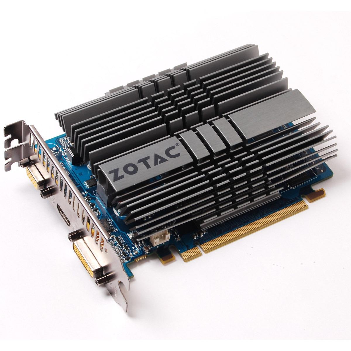 Carte graphique ZOTAC GeForce GT 220 1 GB ZOTAC GeForce GT 220 1 GB - 1 Go HDMI/DVI - PCI Express (NVIDIA GeForce avec CUDA GT 220)
