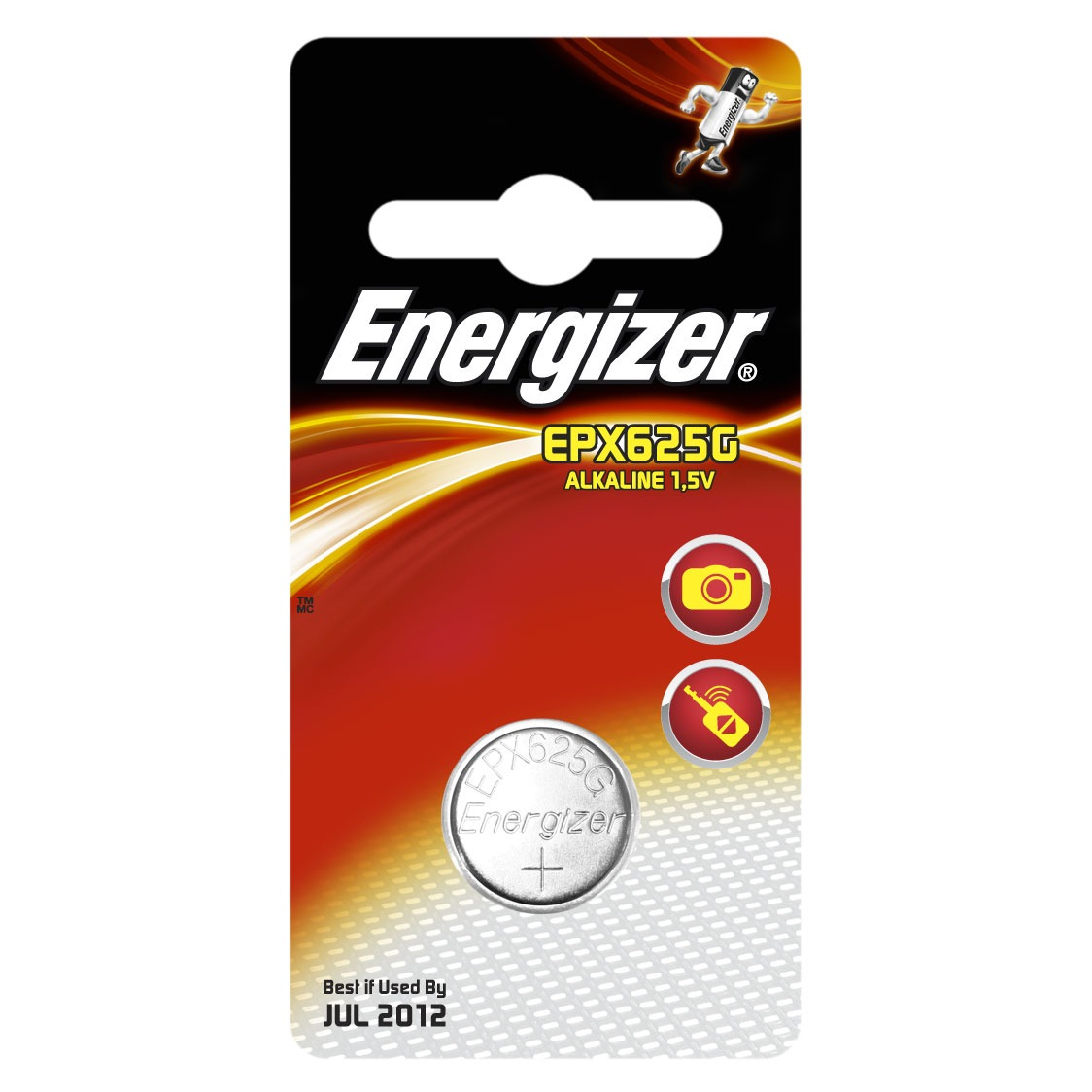 "Pile bouton Energizer Pile ""bouton"" EPX625G Energizer Pile ""bouton"" EPX625G"