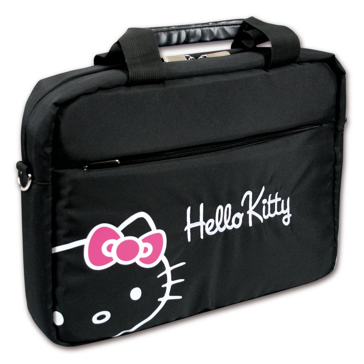 port designs hello kitty bag 15 6 noir hklo16bl achat vente sac sacoche housse sur. Black Bedroom Furniture Sets. Home Design Ideas