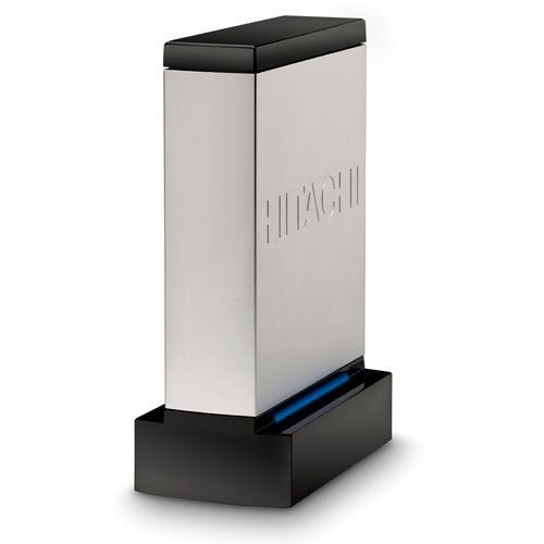 """Disque dur externe Hitachi SimpleDrive Rev3 1 To (USB 2.0) Disque dur externe 3.5"""" sur port USB 2.0"""