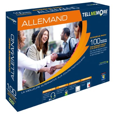 LDLC.com Tell Me More Intensive : Allemand Tell Me More Intensive : Allemand (français, WINDOWS)